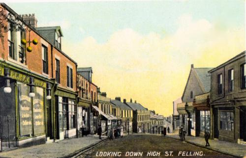 History of The Felling - Gateshead History, Felling History
